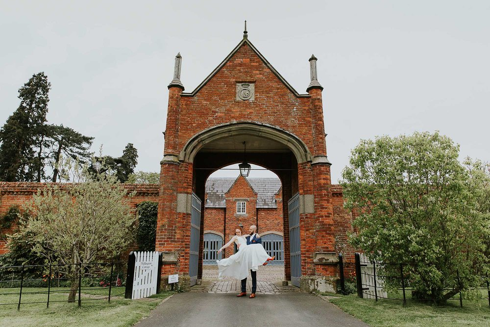 natural wedding photographer Combermere Abbey