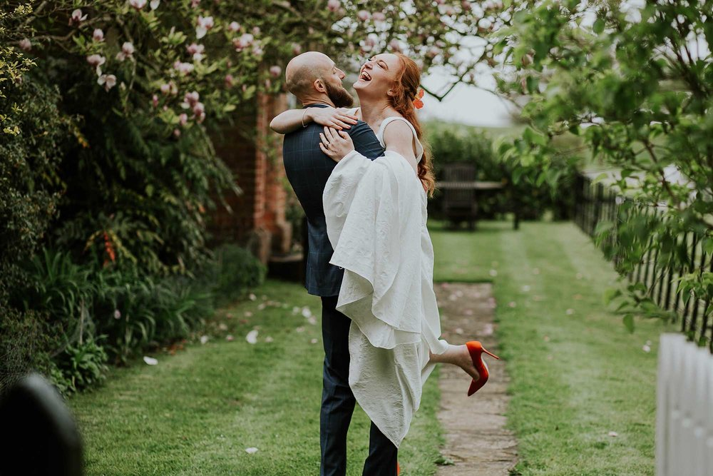 Cheshire relaxed wedding photography