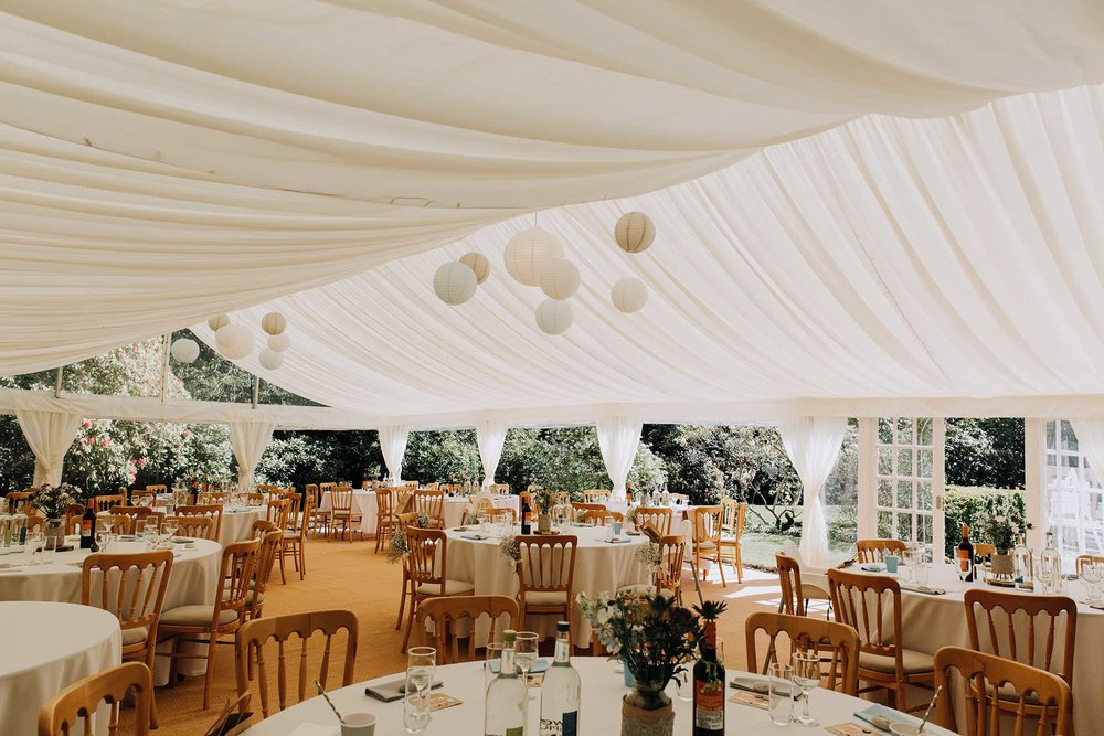Welsh marquee wedding