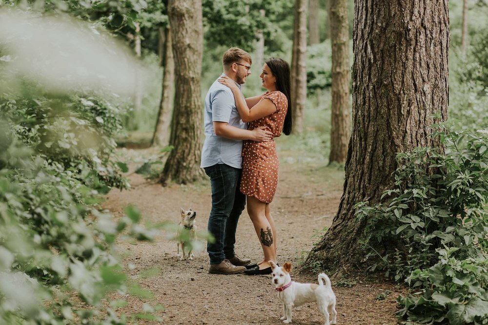 Ceurden Valley Park engagement photography