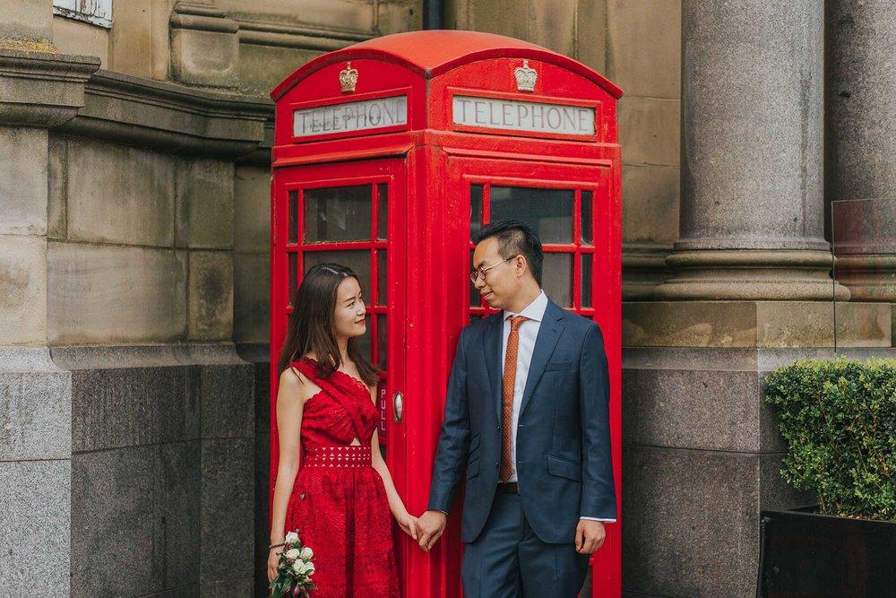 Pre-wedding photoshoot in Leeds