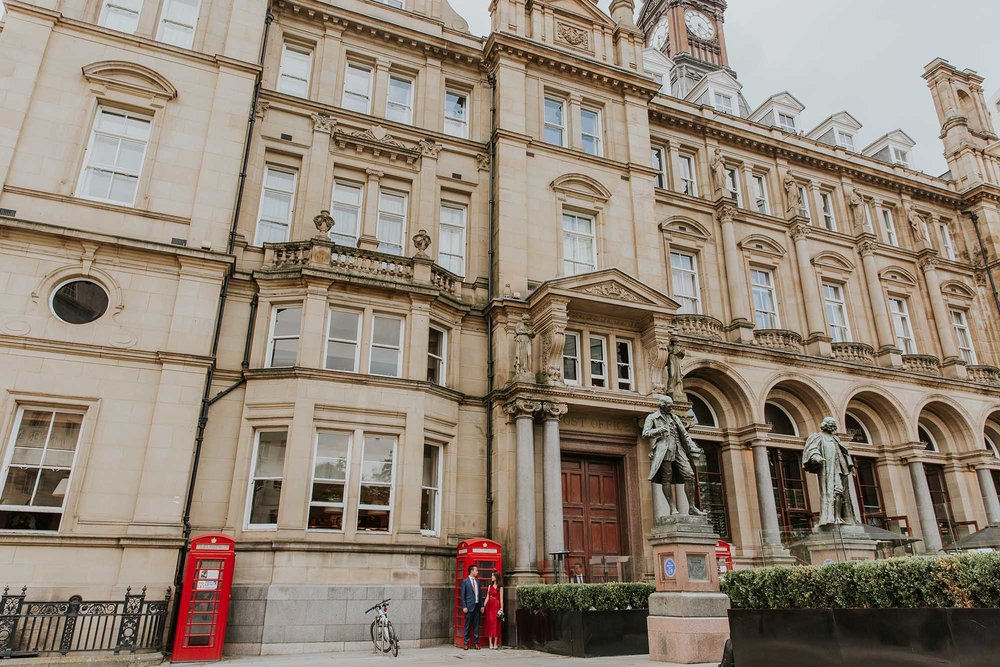 Leeds city centre elopement