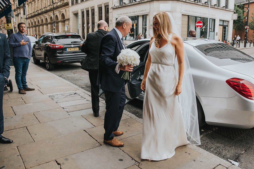 unusual Manchester city centre wedding venues