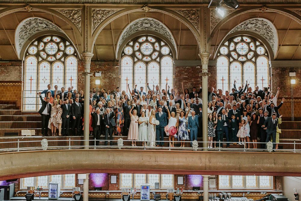 wedding photographs Albert Hall Manchester