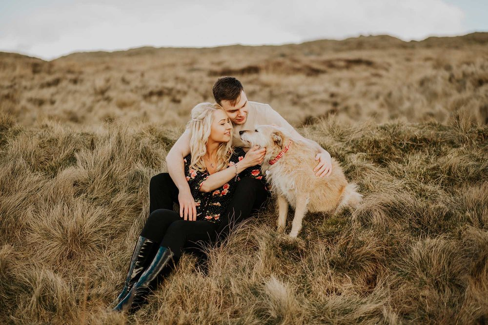 Moorland Engagement Session