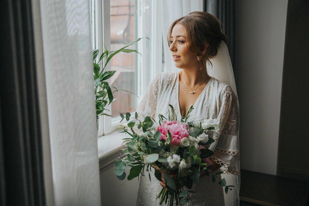 Bride at the Principal Hotel Manchester