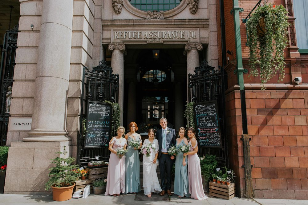 wedding party at The Principal Hotel Manchester