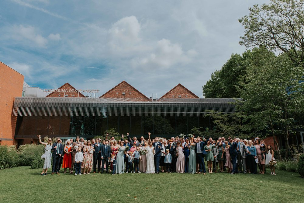 The Whitworth Art Gallery Manchester weddings