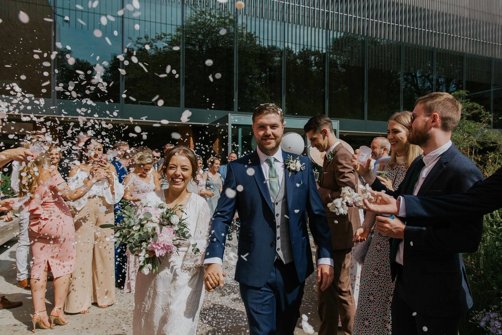 wedding photography The Whitworth Art Gallery Manchester