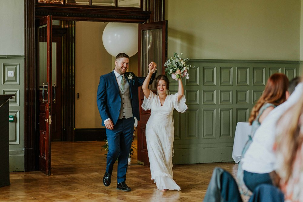 The Whitworth Art Gallery Manchester wedding photo