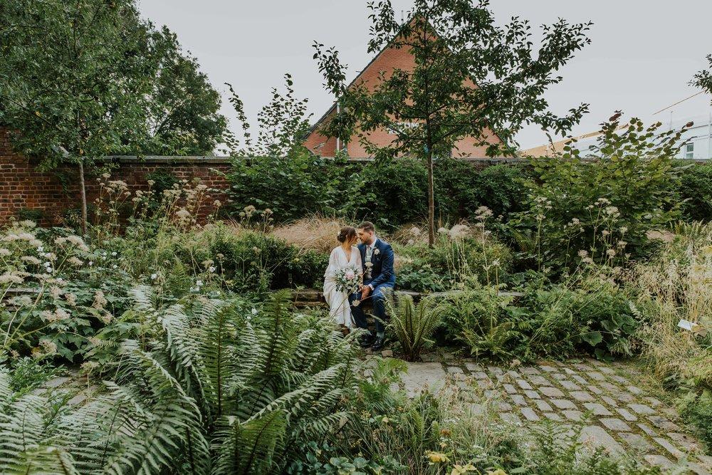 The Whitworth Art Gallery Manchester gardens