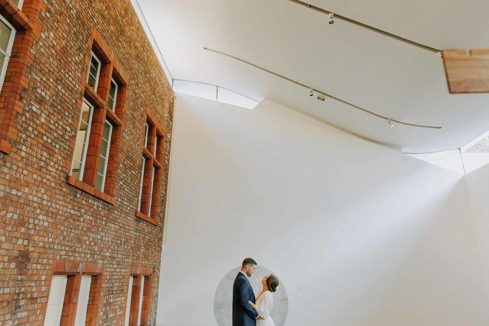 The Whitworth Art Gallery Manchester wedding