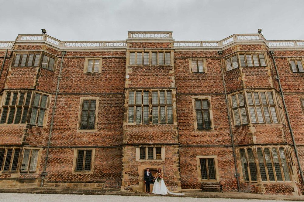 Temple Newsam Leeds wedding