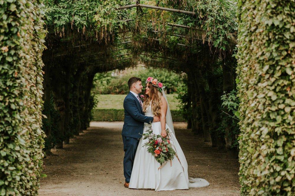 wedding photographs at Temple Newsam in Leeds