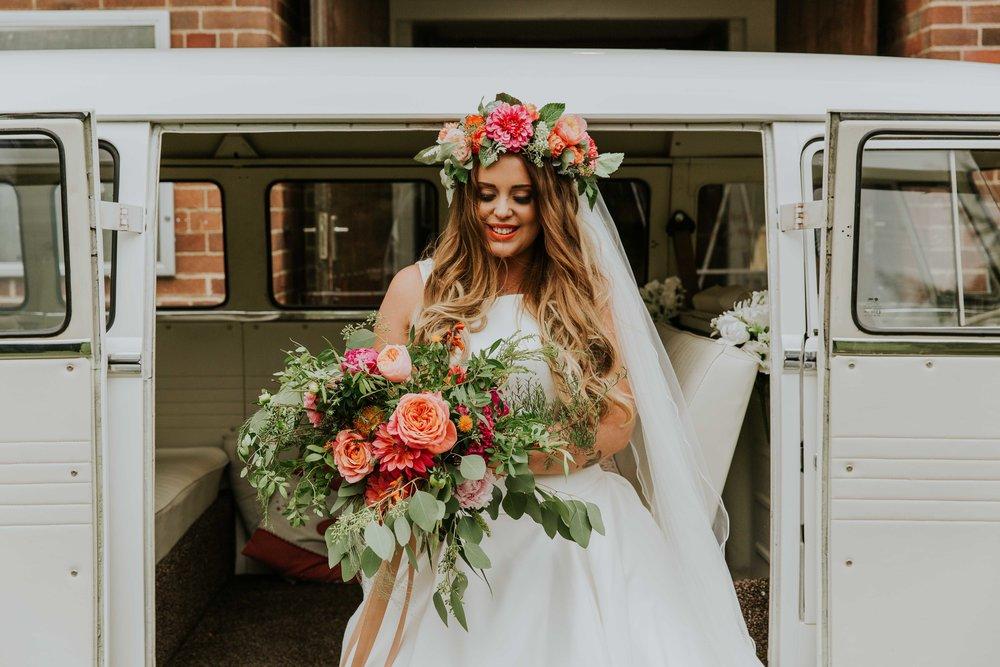 alternative wedding photographer Leeds