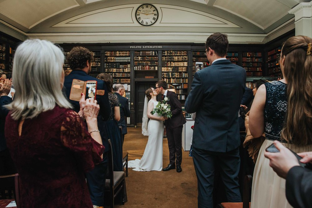 Library wedding Manchester