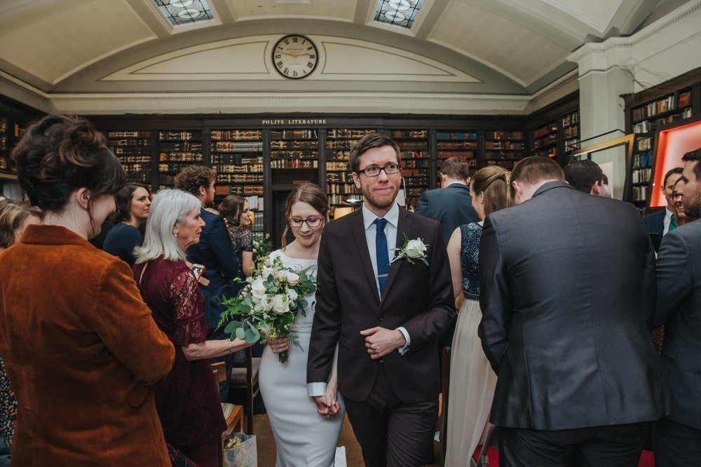 weddings at the Portico Library