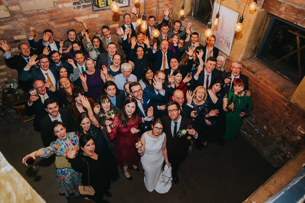 weddings at Seven Brothers Brewery, Manchester