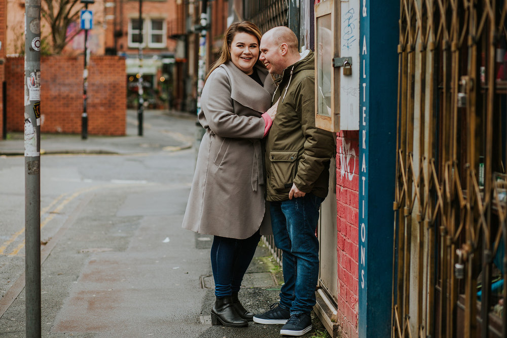 city engagement photos Manchester