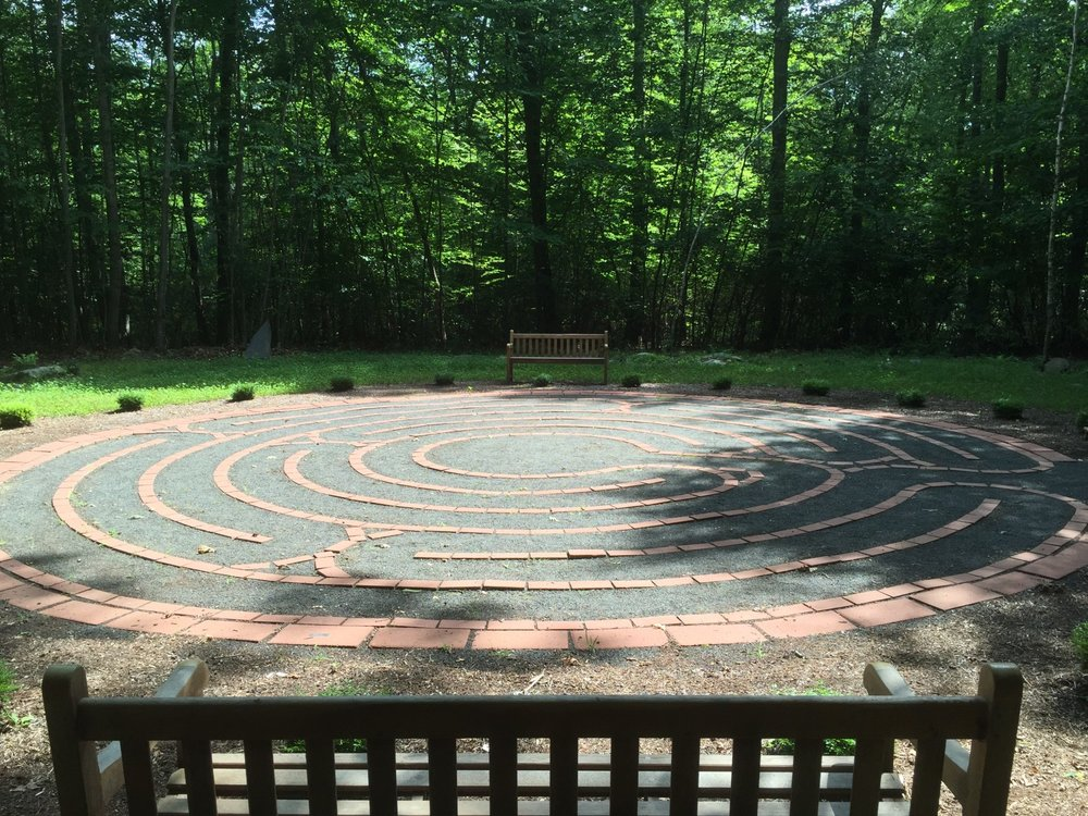 End our day with a Labyrinth Walk Meditation