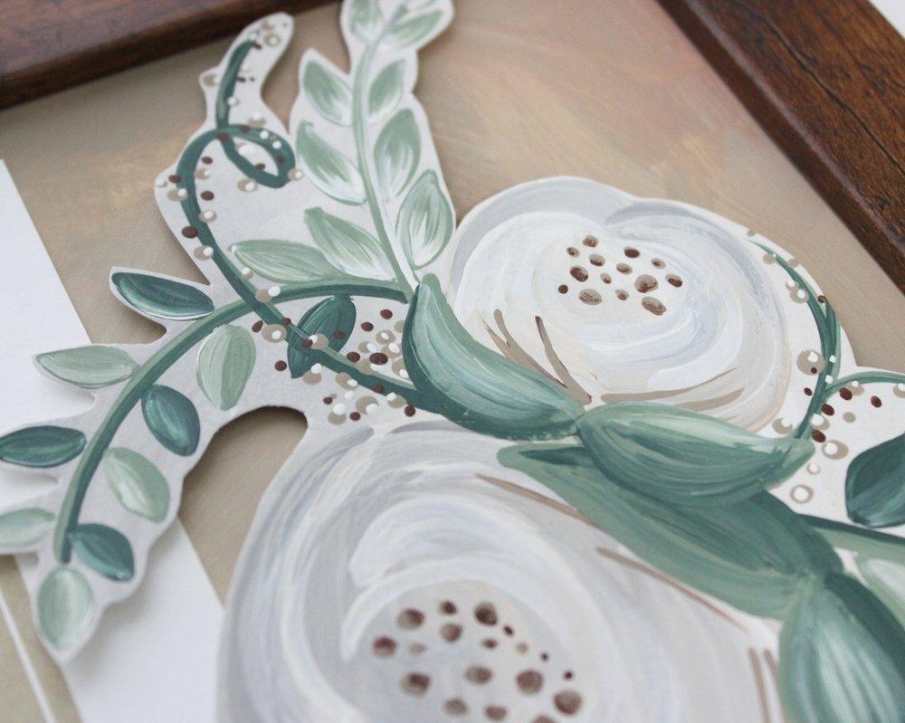 Framed Wedding Invitation Keepsakes - Unique Wedding Gift for Bride ...