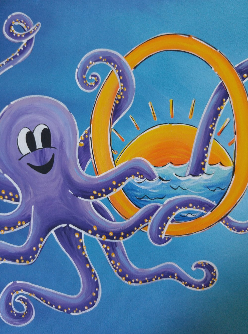 O is for Octopus! (And ocean!)