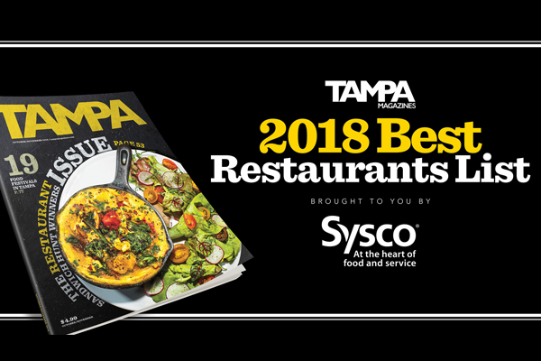 2018 Best Restaurants List    Tampa Magazine