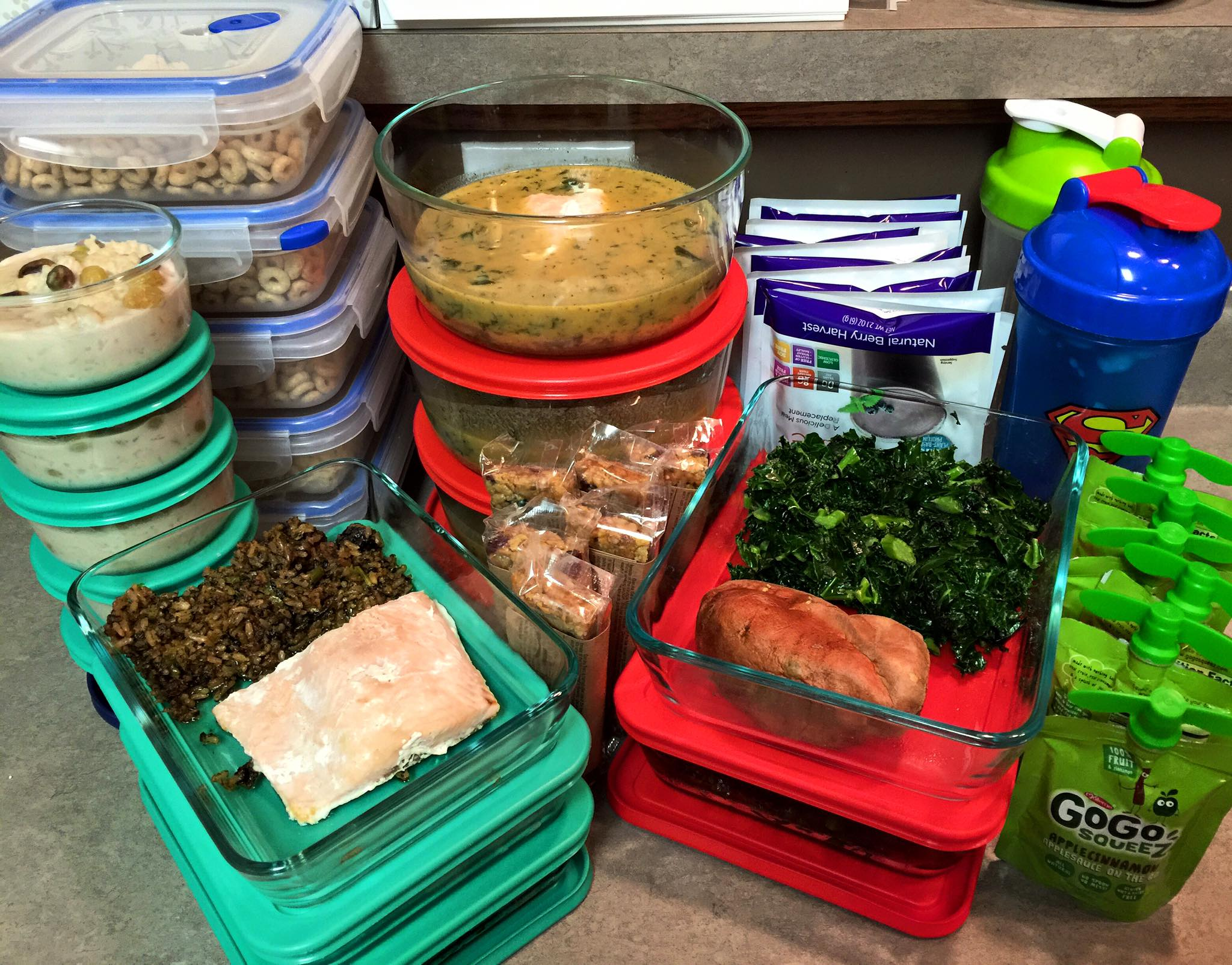 Meal Prep Feb 1 2016