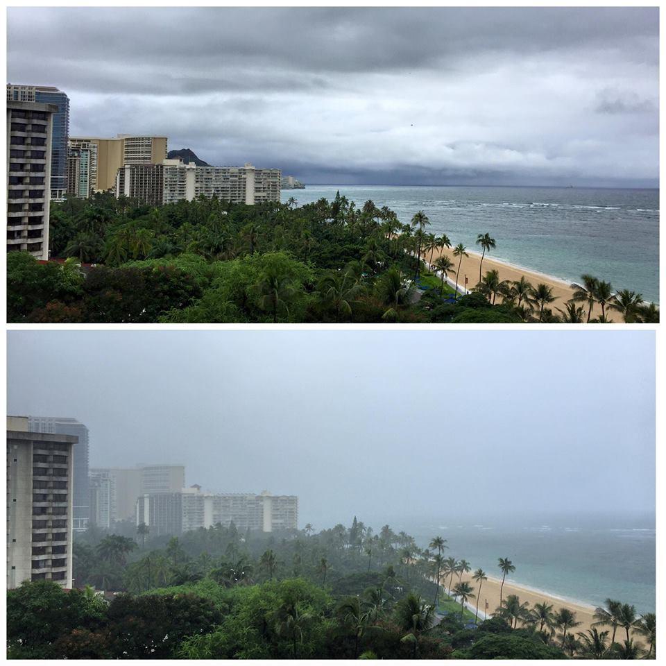 Rainy Waikiki