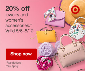 Accessorize your new dresses, or shop for the Mom in your life with 20% off!