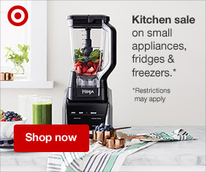 Kitchen!! - Small appliances can really help, and I personally love a few on sale this week!