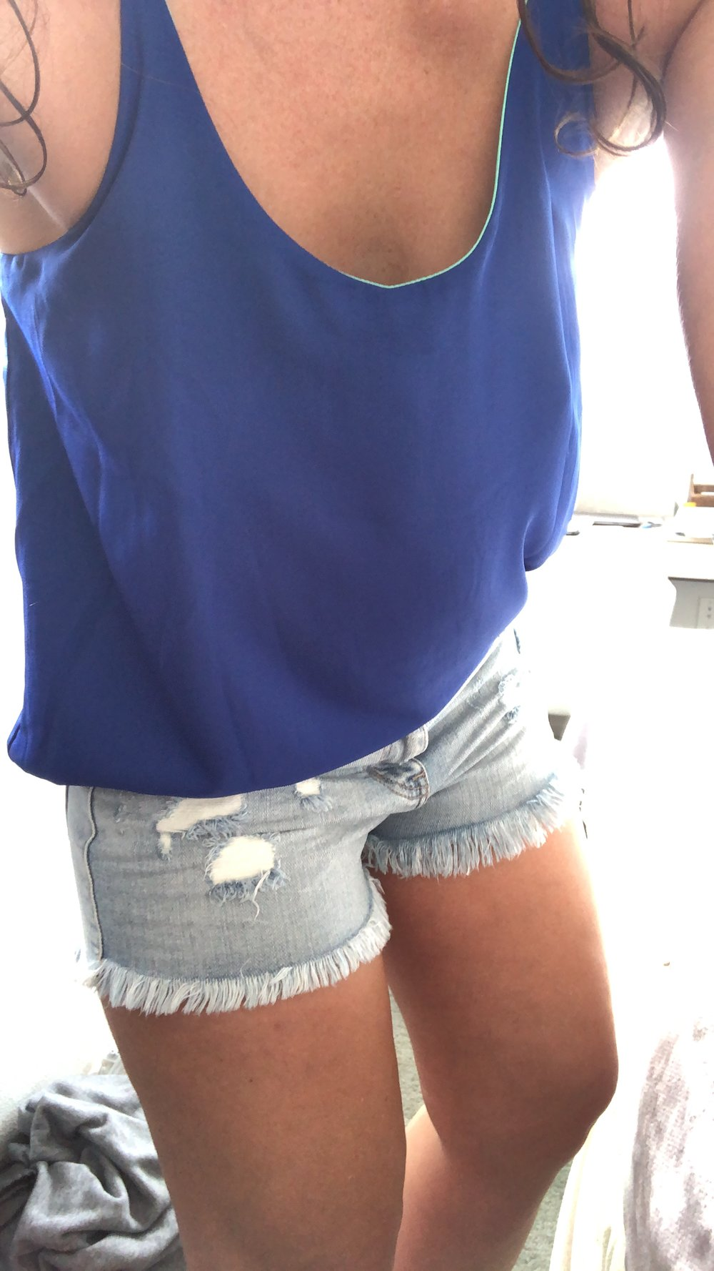 Softest Jean Shorts Ever