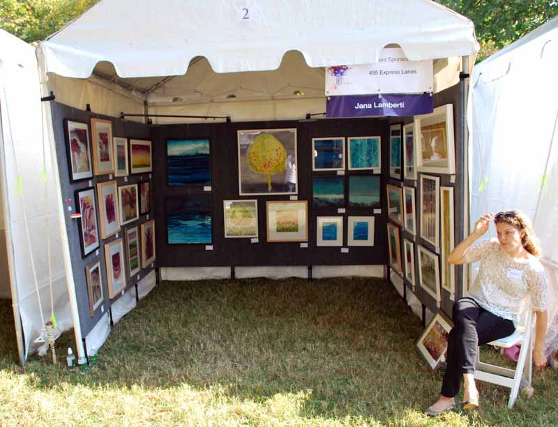 jana lamberti silk art my display in the mpaartfest