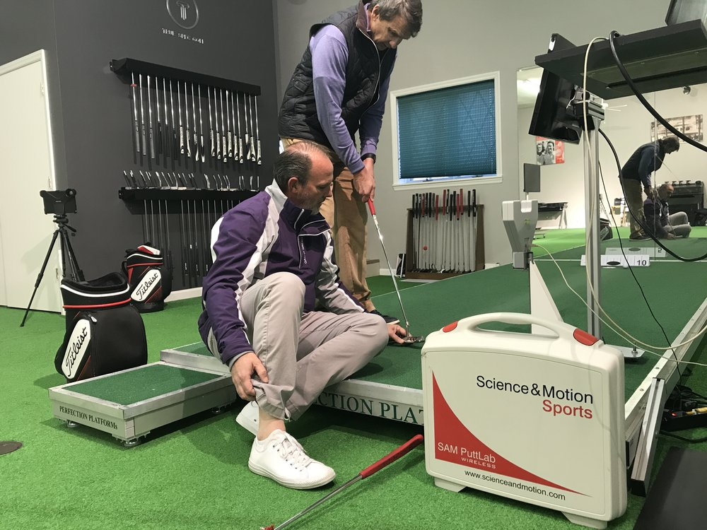 No wonder I don't make a lot of putts; David Orr and his SAM 3-D system prove my putter face is open 2.1 degrees on every putt.