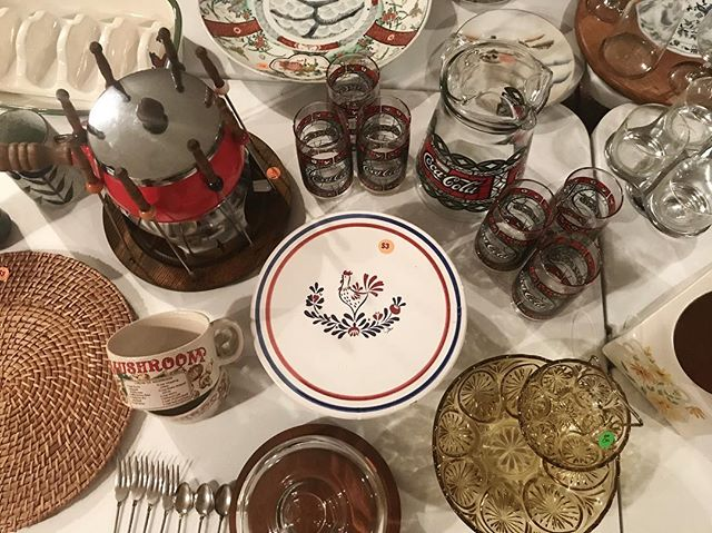Our Navarre Estate Sale starts in just 30 minutes! It's the perfect Friday lunch time activity. - 1 South Park Pl.