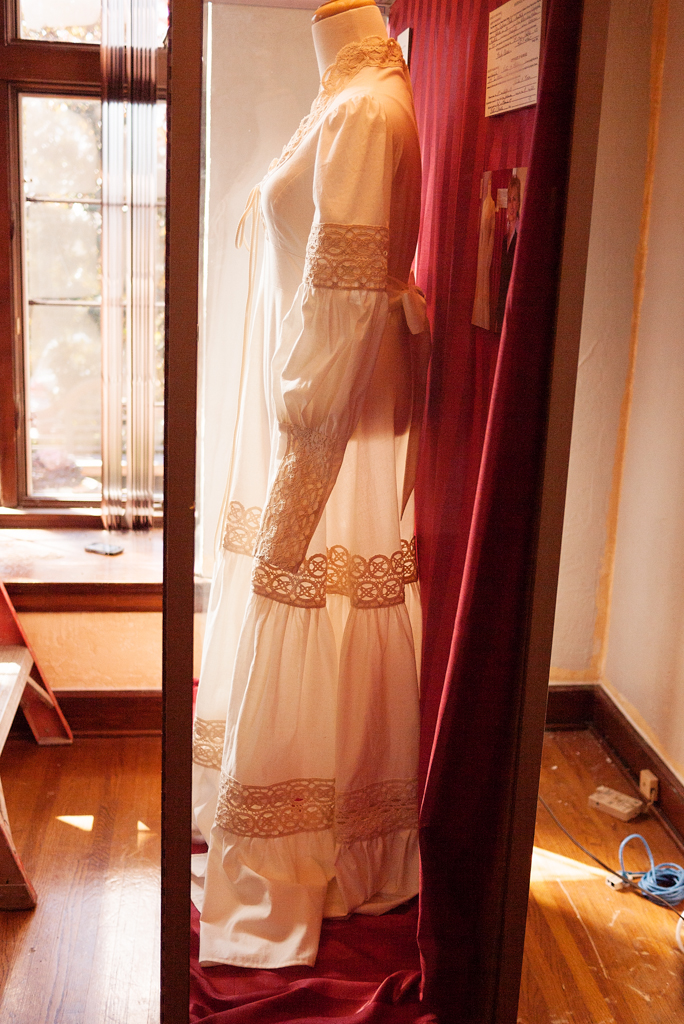 Hillary Clinton's wedding dres
