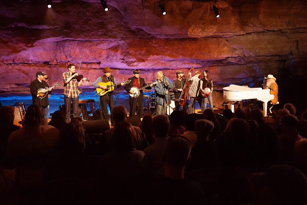 Bluegrass Underground Leon Russell © Ginka Wandzura Poole