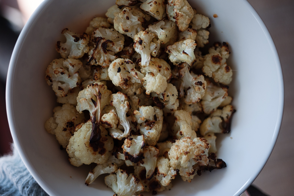 Cauliflower Popcorn ©Ginkaville.com