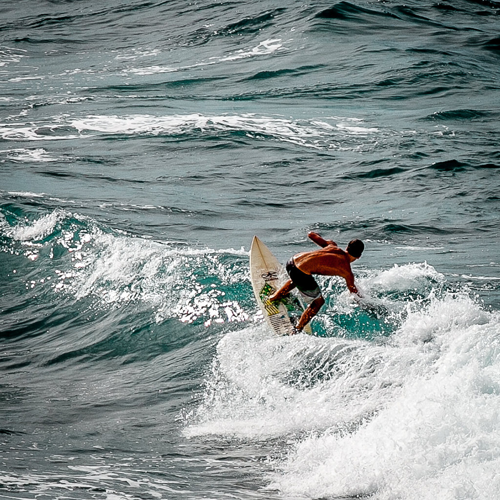 Surfer, Paia, Maui © ginkaville.com