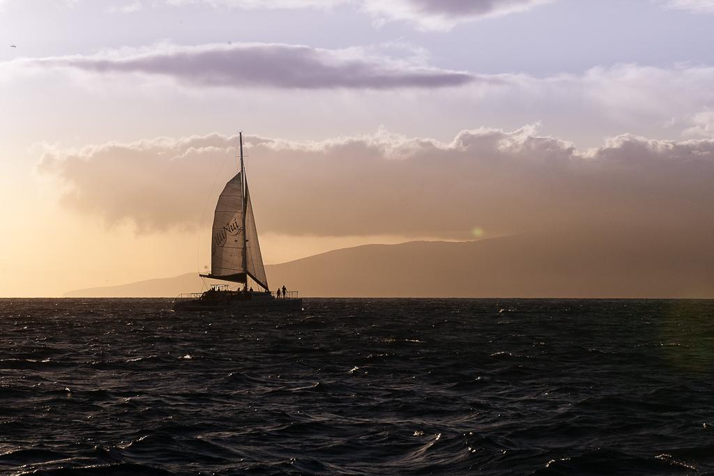 Sunset, Maui, HI © ginkaville.com
