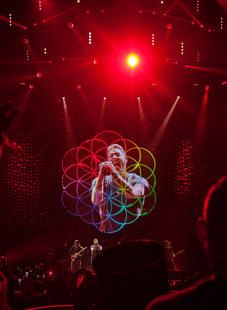 Chris Martin, Coldplay, Louisville, Kentucky