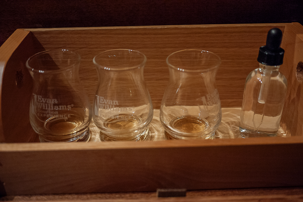 Evan Williams Bourbon Experience Tasting Kentucky Bourbon Trail