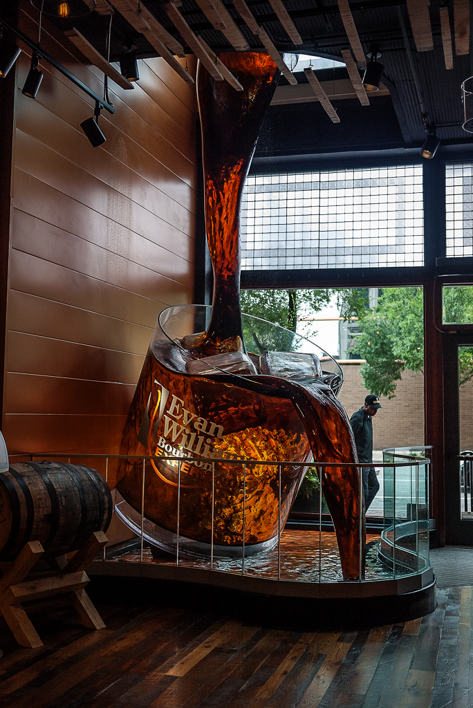 Evan Williams Bourbon Experience Kentucky Bourbon Trail