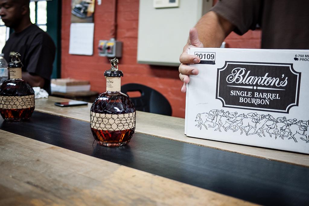 Blanton's Bourbon Buffalo Trace Distillery