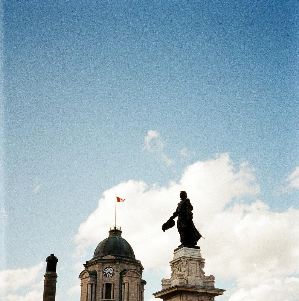 My Month On Medium Format | Medium Format Rangefinder| Shot on Film | Film Photography | Quebec City | via @ginka + ginkaville.com
