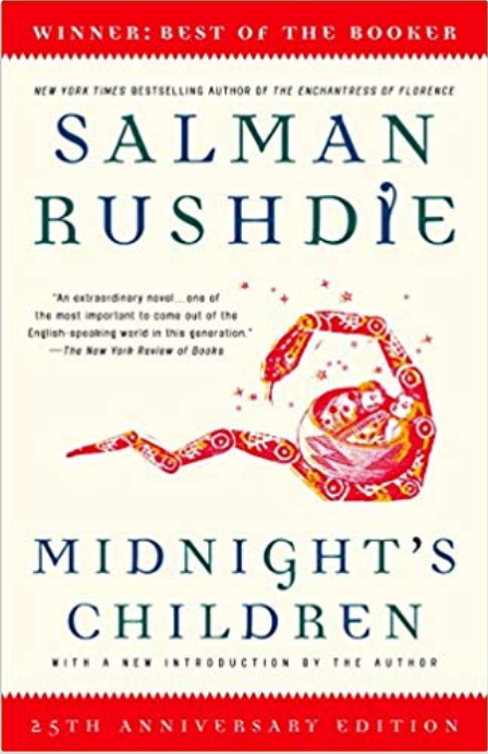 Midnight's Children - Salman Rushdie Review via @ginka + ginkaville.com