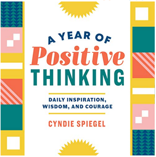 A Year of Positive Thinking - Cyndie Spiegel Review via @ginka + ginkaville.com