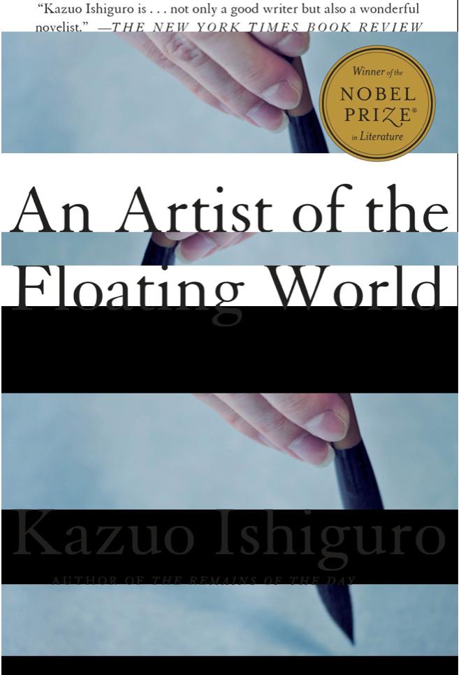 An Artist of the Floating World - Kazuo Ishiguro Review via @ginka + ginkaville.com