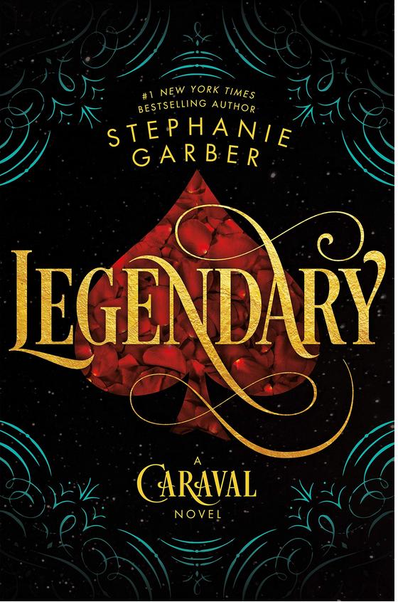 Legendary - Stephanie Garber Review via @ginka + ginkaville.com