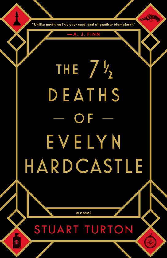 The 7 1/2 Deaths of Evelyn Hardcastle - Stuart Turton Review via @ginka + ginkaville.com